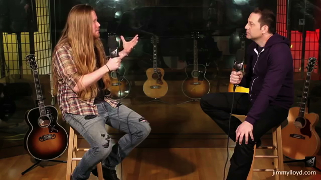 Daniel Van Cortlandt is interviewed on The Jimmy Loyd Songwriter Showcase