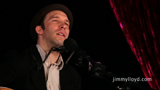Joe Jung performs The People I Know on The Jimmy Lloyd Songwriter Showcase