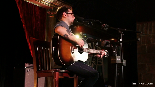 Justin Bohr performs Song Bird on The Jimmy Lloyd Songwriter Showcase