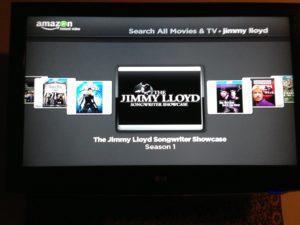 AmazonTV menu